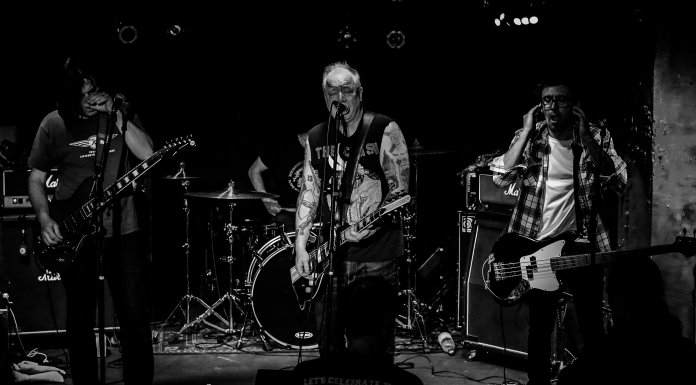 Down By Law Am 31. Oktober 2018 Im Kulturzentrum Faust In Hannover
