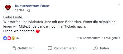Screenshot Kukturzentrum Faust Punk in Drublic