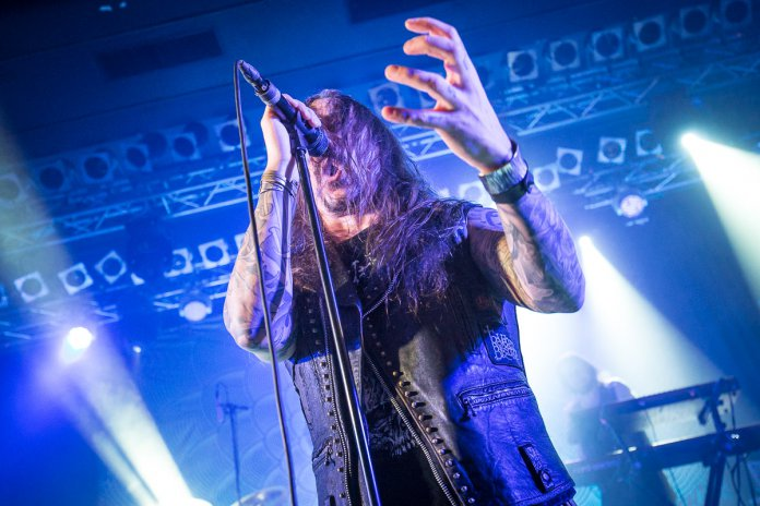 Amorphis am 18. Januar 2019 live im Capitol in Hannover