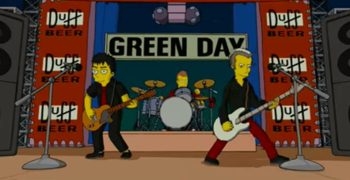 Green Day bei The Simpsons