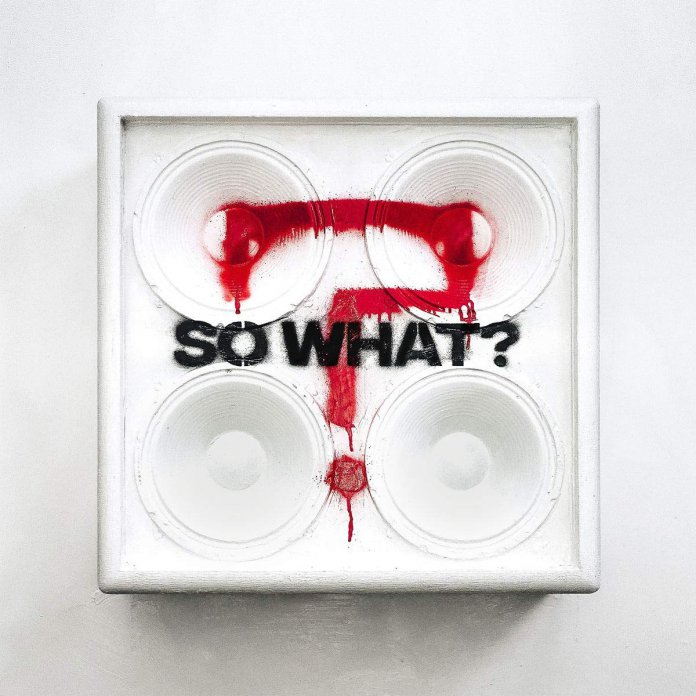 While She Sleeps - So What Albumcover