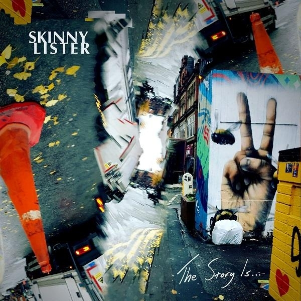 Skinny Lister - The Story Is Albumcover
