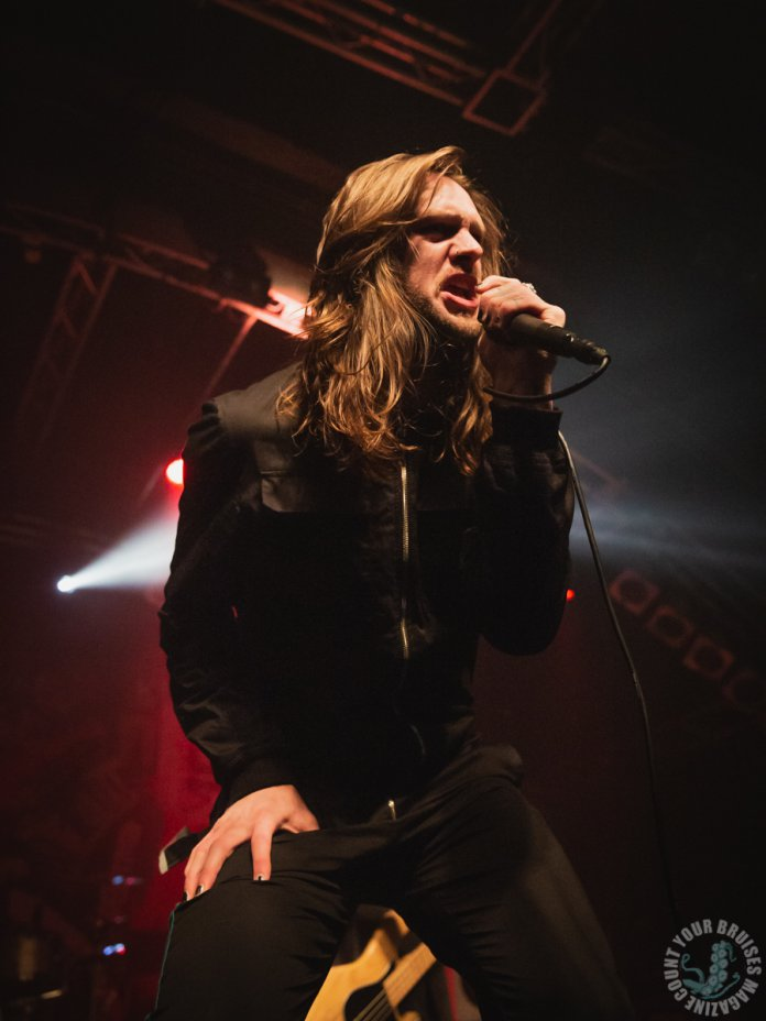 While She Sleeps am 03.02.2019 live in der Markthalle in Hamburg