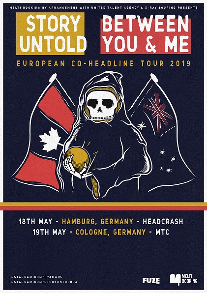 Between You And Me und Story Untold Tour