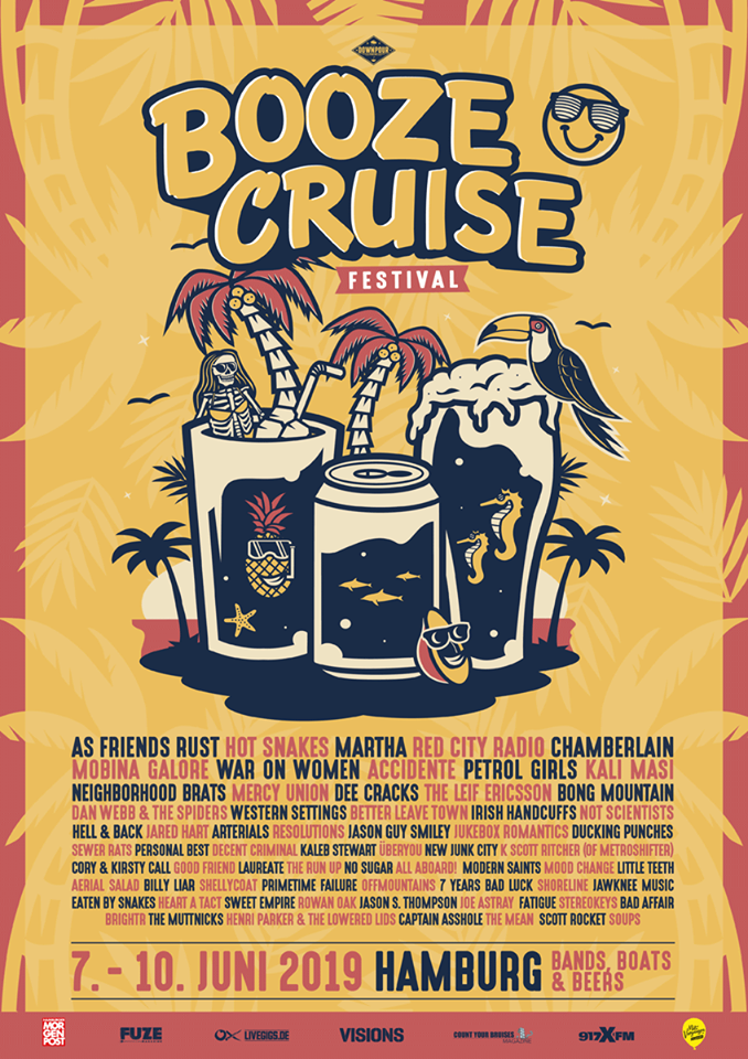 Booze Cruise Finales Line Up