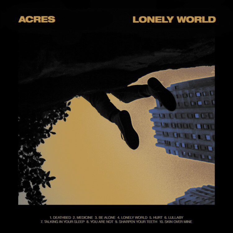 Acres Lonely World Albumcover