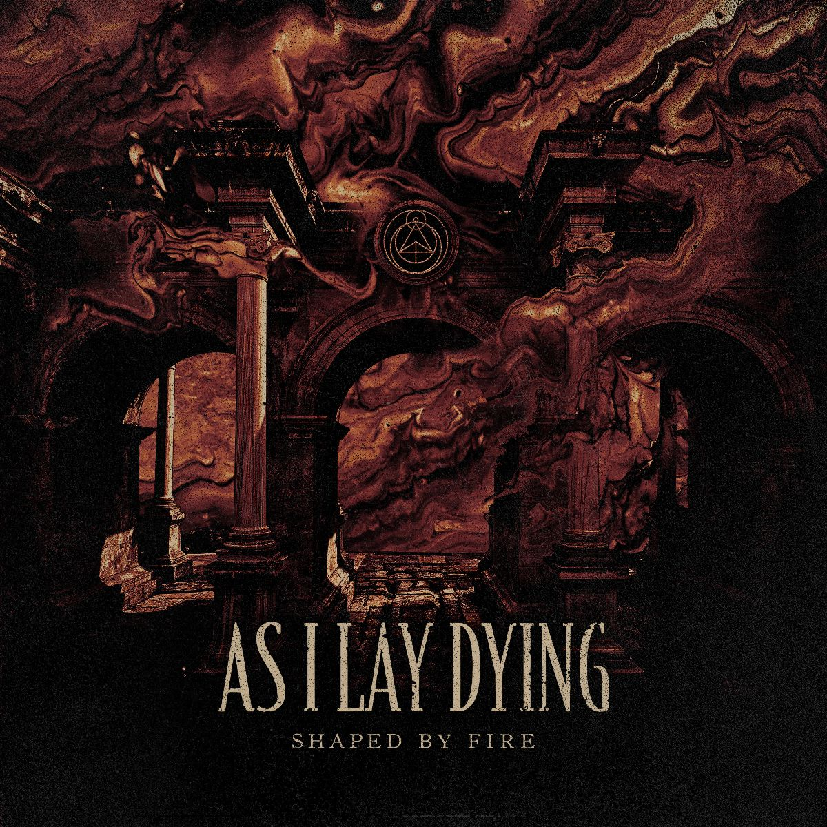 As I Lay Dying - Shaped By Fire Albumcover