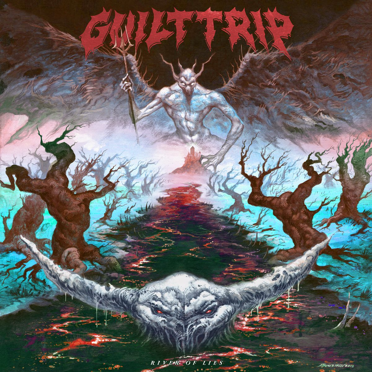 Guilt Trip - River Of Lies Albumcover