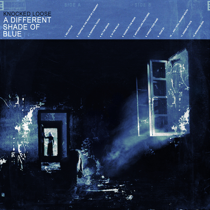 Knocked Loose - A Different Shade Of Blue (Albumcover)