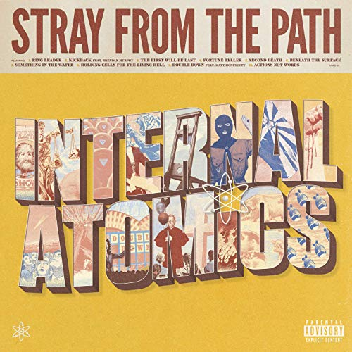 Stray From The Path - Interenal Atomics Albumcover