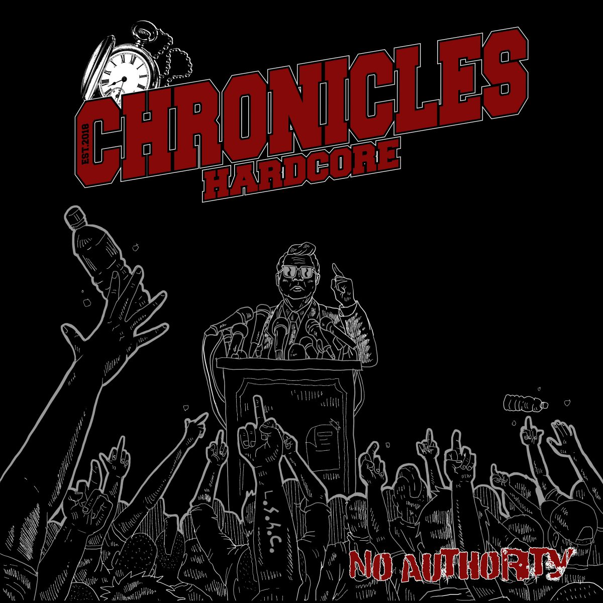 Chronicles - No Authority Albumcover