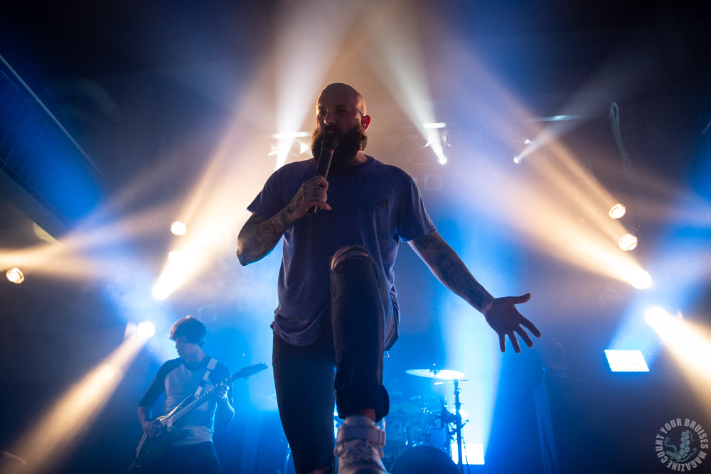 August Burns Red live im Gruenspan in Hamburg am 20.11.2019