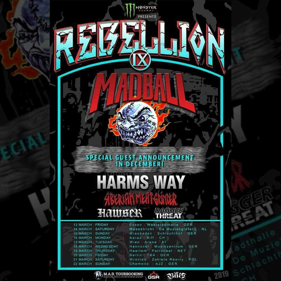 Rebellion Tour 2020