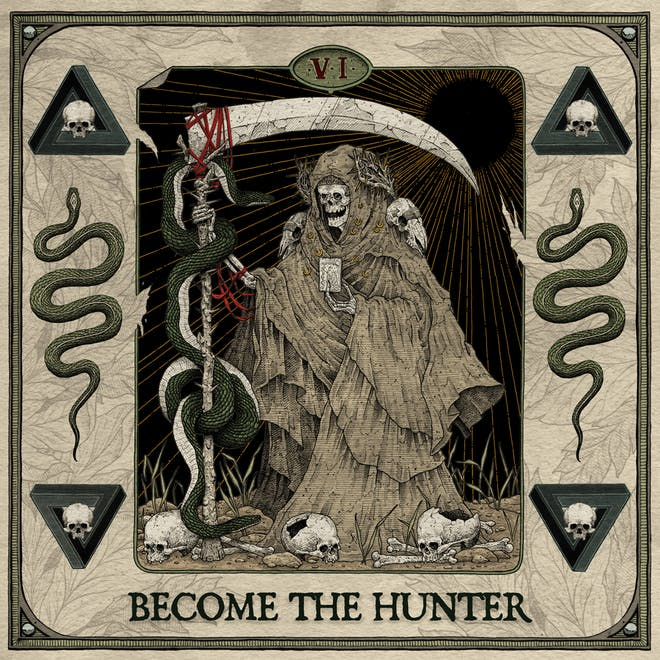 Suicide Silence - Become The Hunter Albumcover
