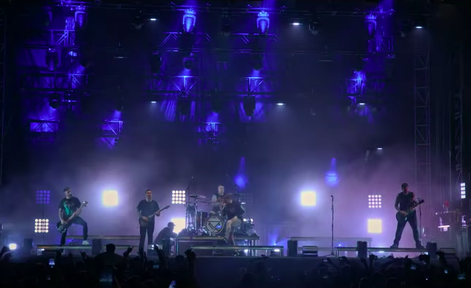 The Ghost Inside Live Video Screenshot