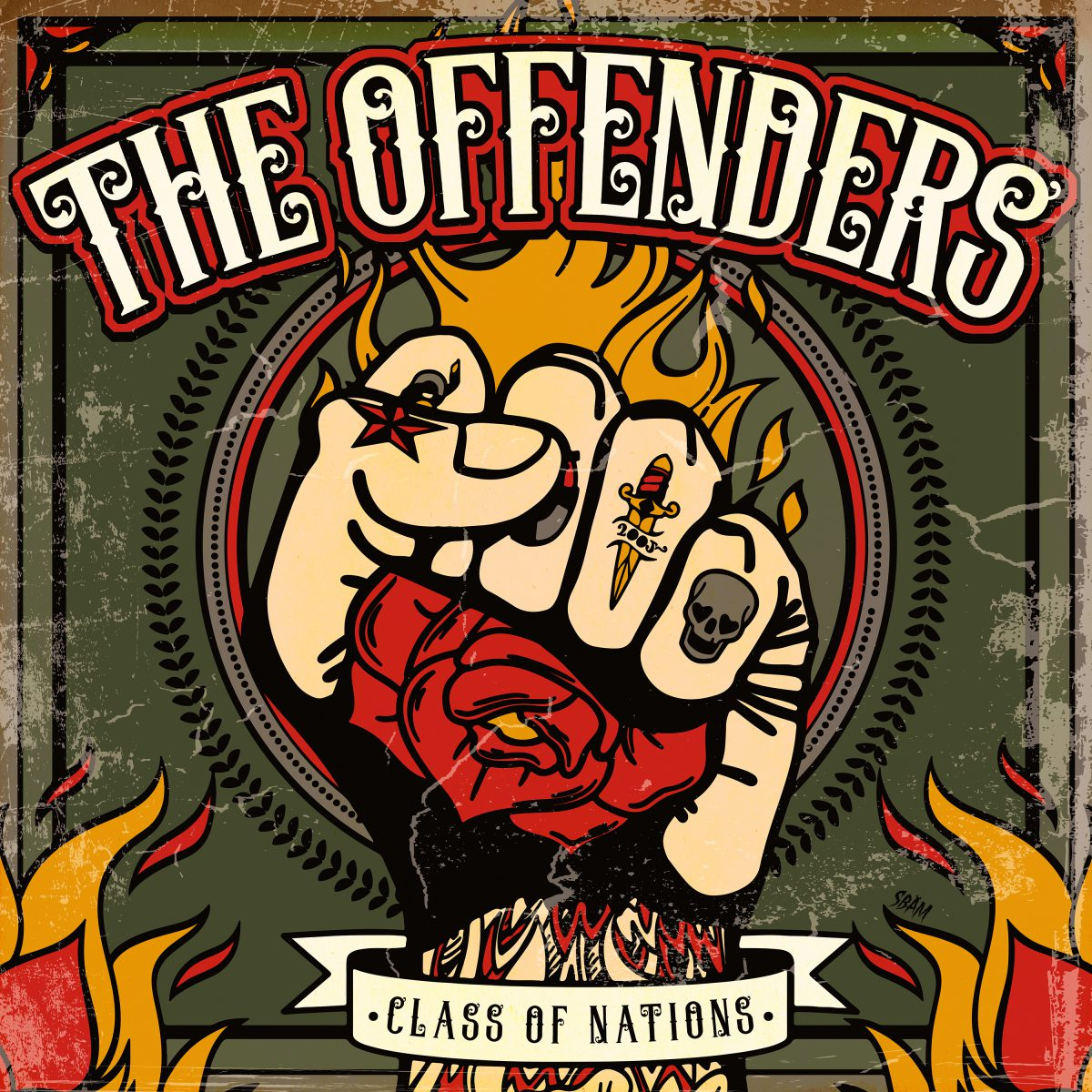 The Offenders - Class Of Nations (Albumcover)