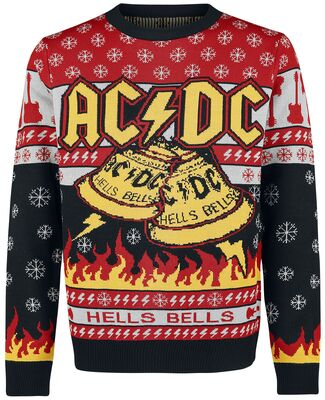 AC/DC Ugly Christmas Sweater