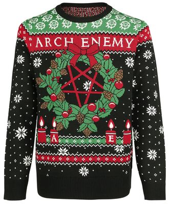 Arch Enemy Ugly Christmas Sweater