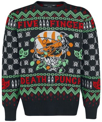 Five Finger Death Punch Ugly Christmas Sweater