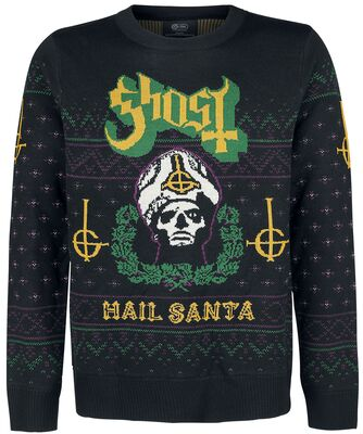 Ghost Ugly Christmas Sweater