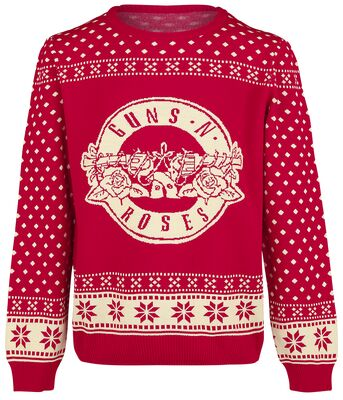 Guns N Roses Ugly Christmas Sweater