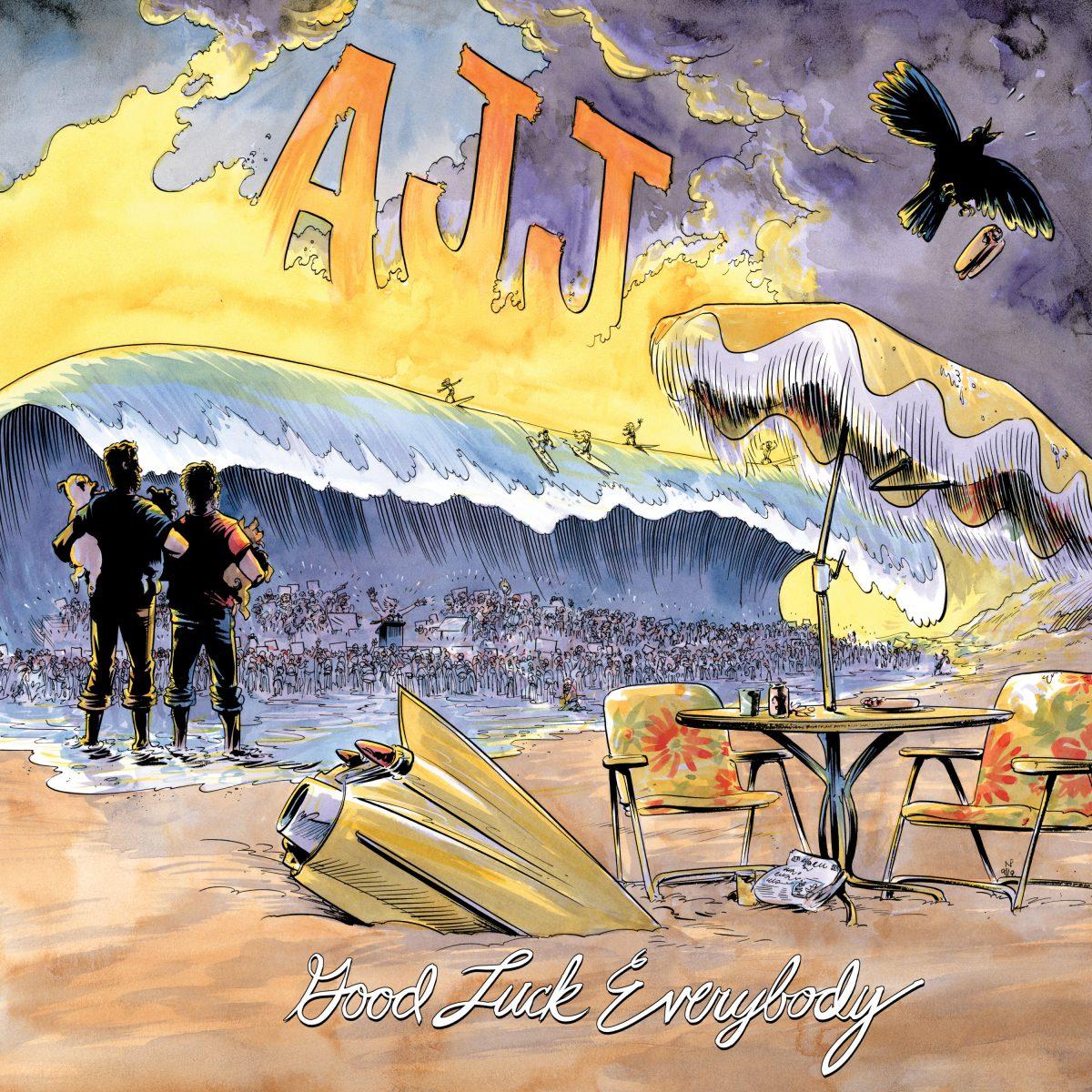 AJJ - Good_Luck_Everybody Albumcover