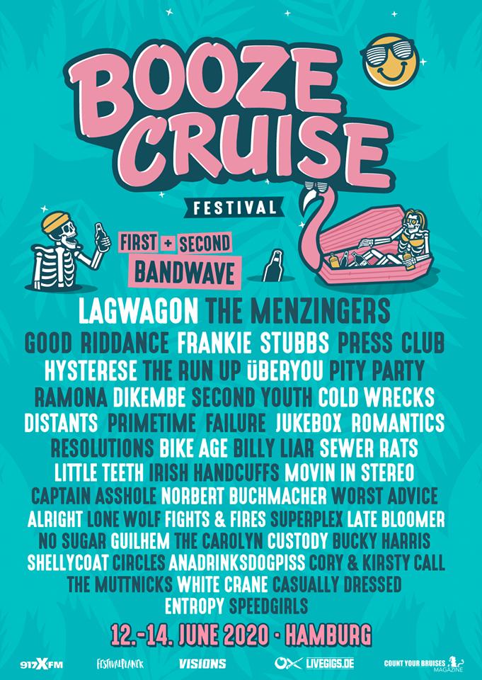 Booze Cruise 2020 Bandwelle 2