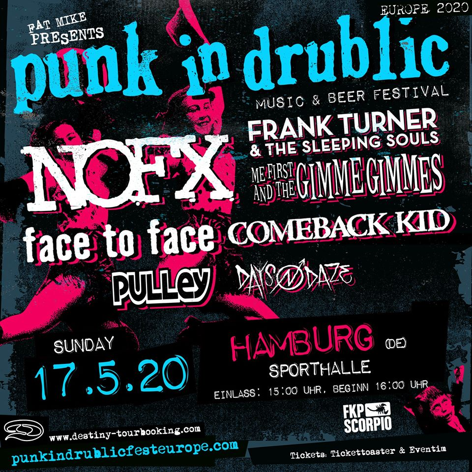 Punk In Drublic 2020 Hamburg