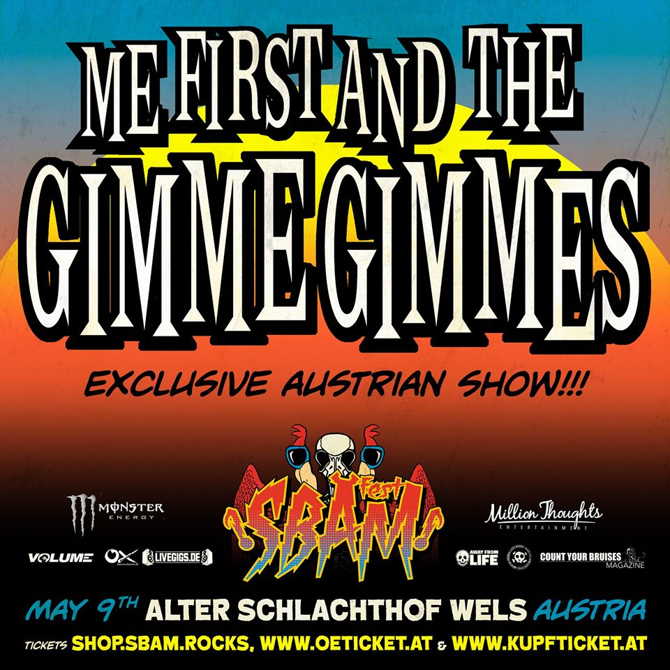 SBÄM Me First And The Gimme Gimmes