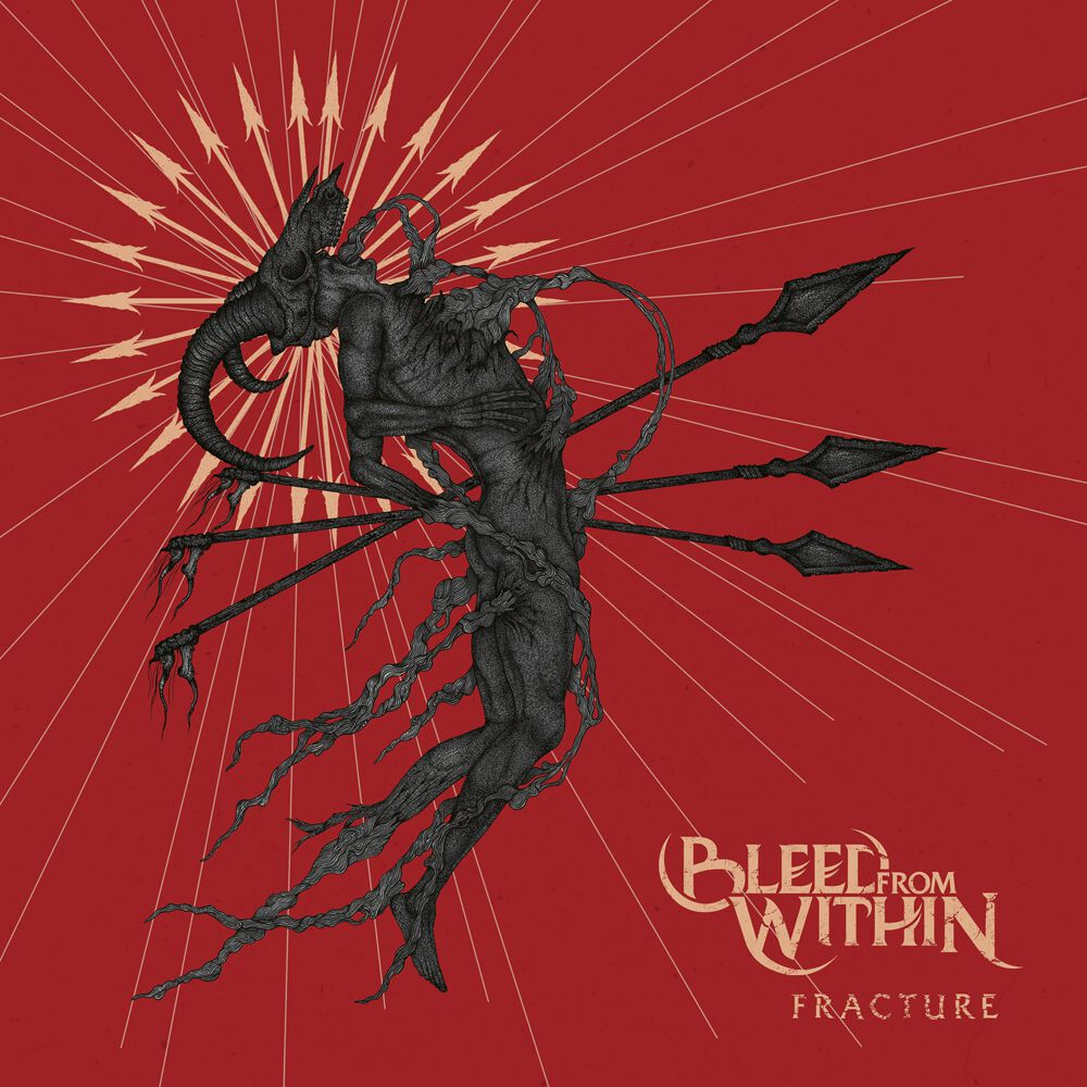 Bleed From Within - Fracture Albumcover