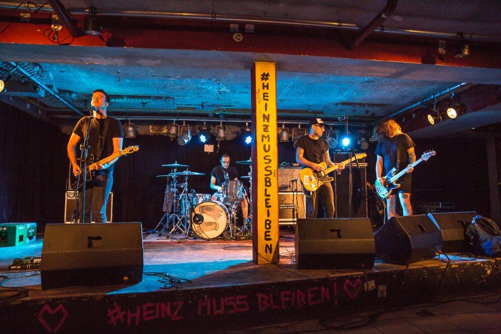 Not Scientists am 08.10.2018 im Béi Chéz Heinz in Hannover