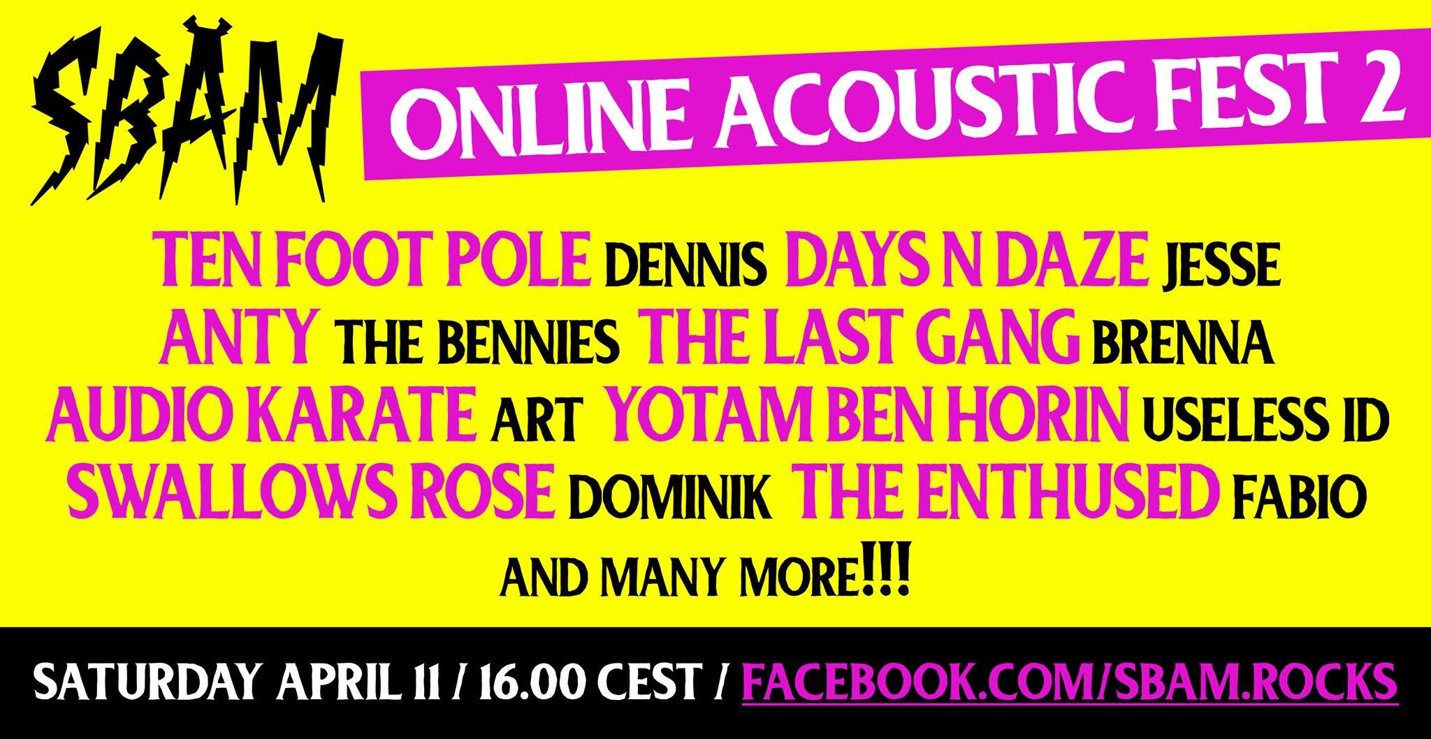 SBÄm Acoustic Fest 2