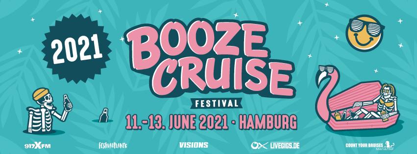 Nachdem bereits die Ausgabe in Bristol abgesagt wurde, folgt mit der Absage aller Großveranstaltungen bis zum 31. August (News) nun auch die Hamburger Ausgabe des Booze Cruise Festival. Die wird kurzerhand auf 2021 verschoben