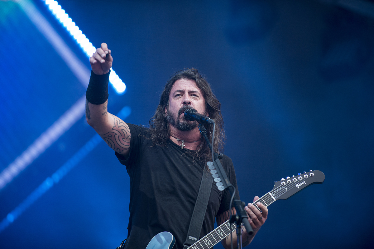 Foo Fighters Hamburg Live Dave Grohl