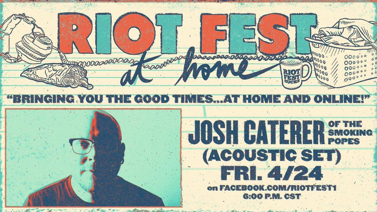 Josh Caterer Riot Fest News