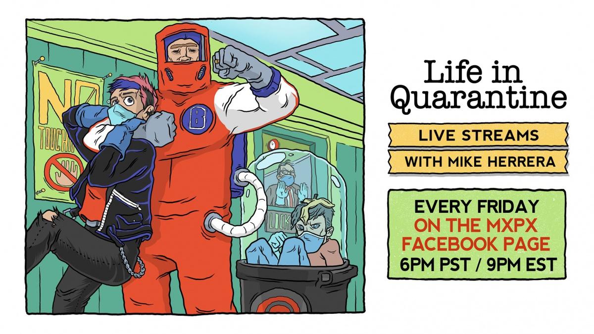 MxPx Live in Quarantine News