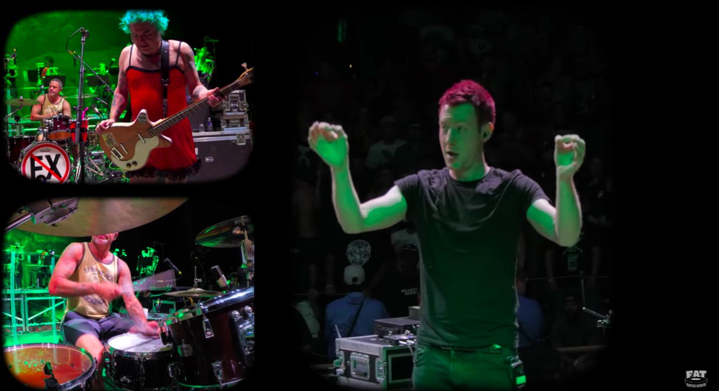 Screenshot NOFX The Decline Live