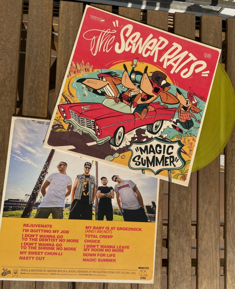 Behind The Artwork: The Sewer rats -Magic Summer