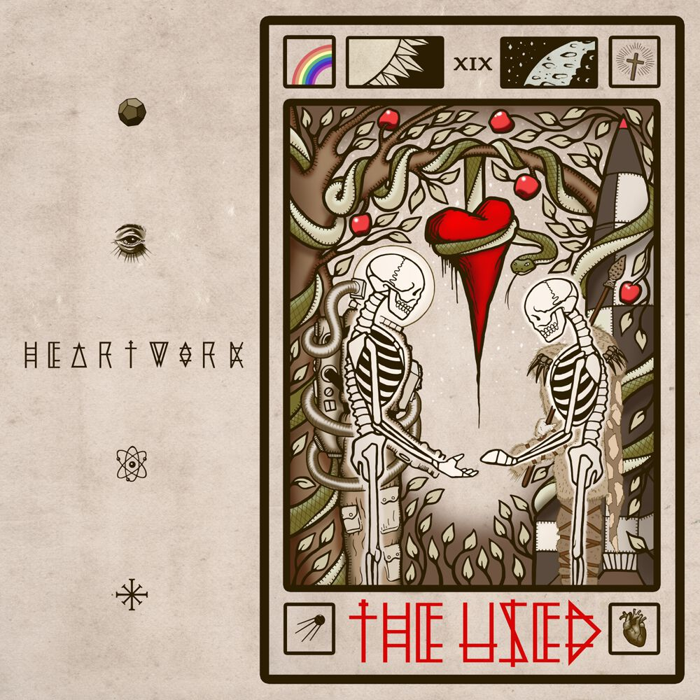 The Used - Heartwork Albumcover