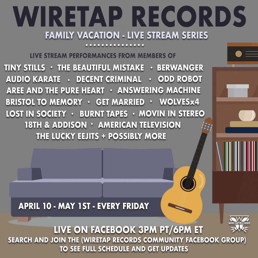 Wiretap Records News