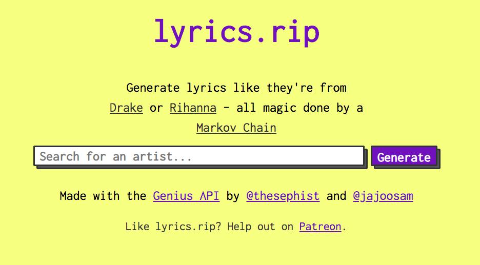 Lyrics.rip