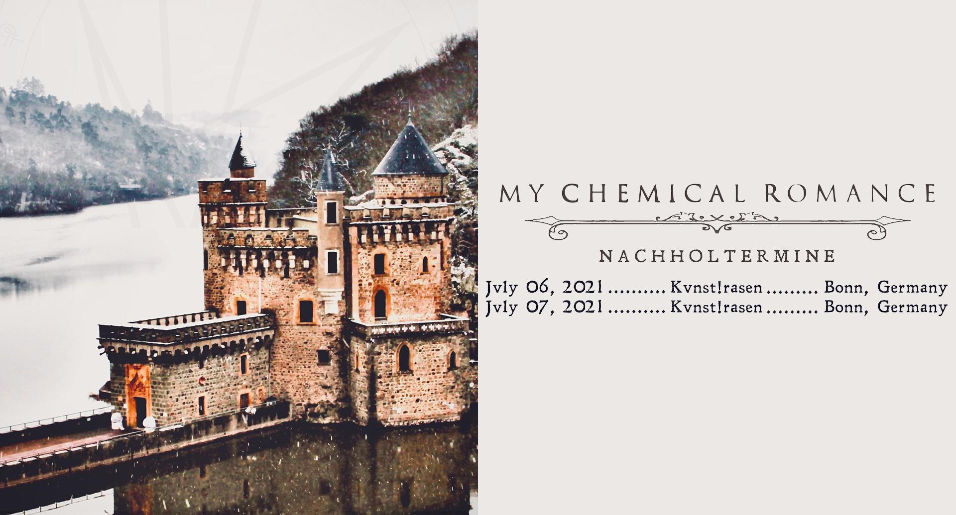 My Chemical Romance neue Daten News