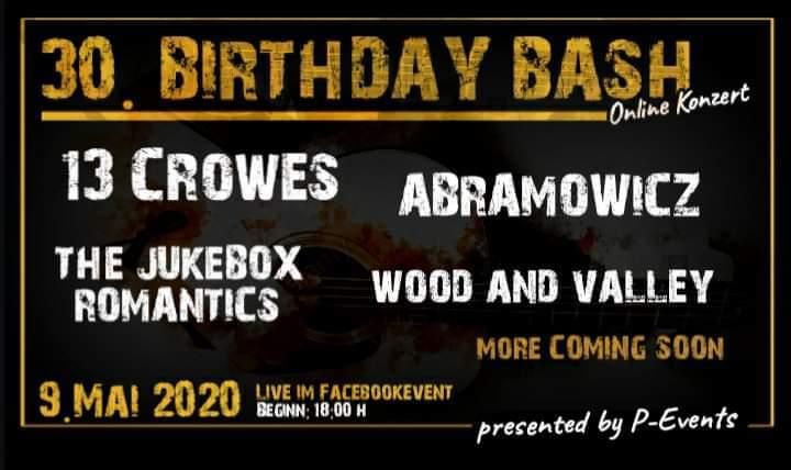 P-Events Geburtstagsstream News