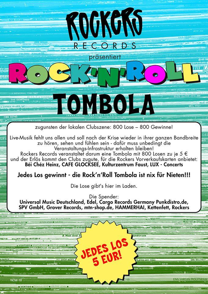 Rockers Records Tombola News