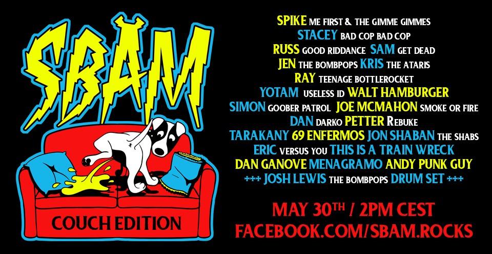 Sbäm Fest Couch Edition 31 Mai