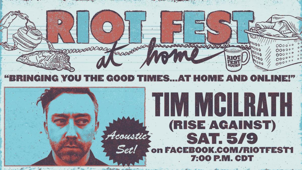 Tim McIlrath Riot Fest News