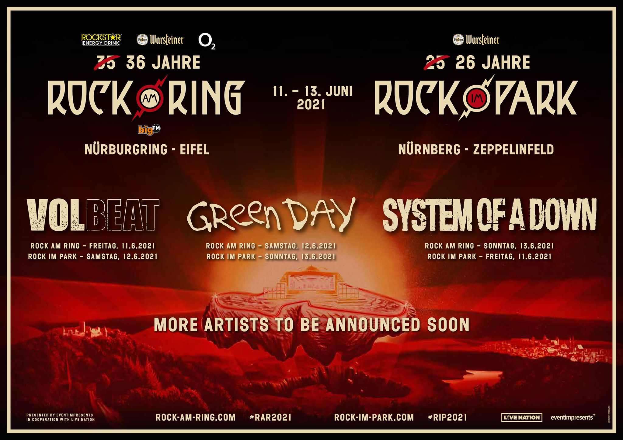Rock Am Ring Rock Im Park 2021