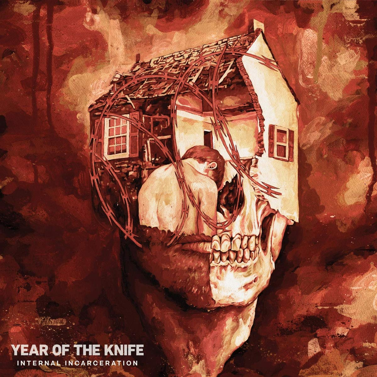Year Of The Knife - Internal Incarceration Albumcover