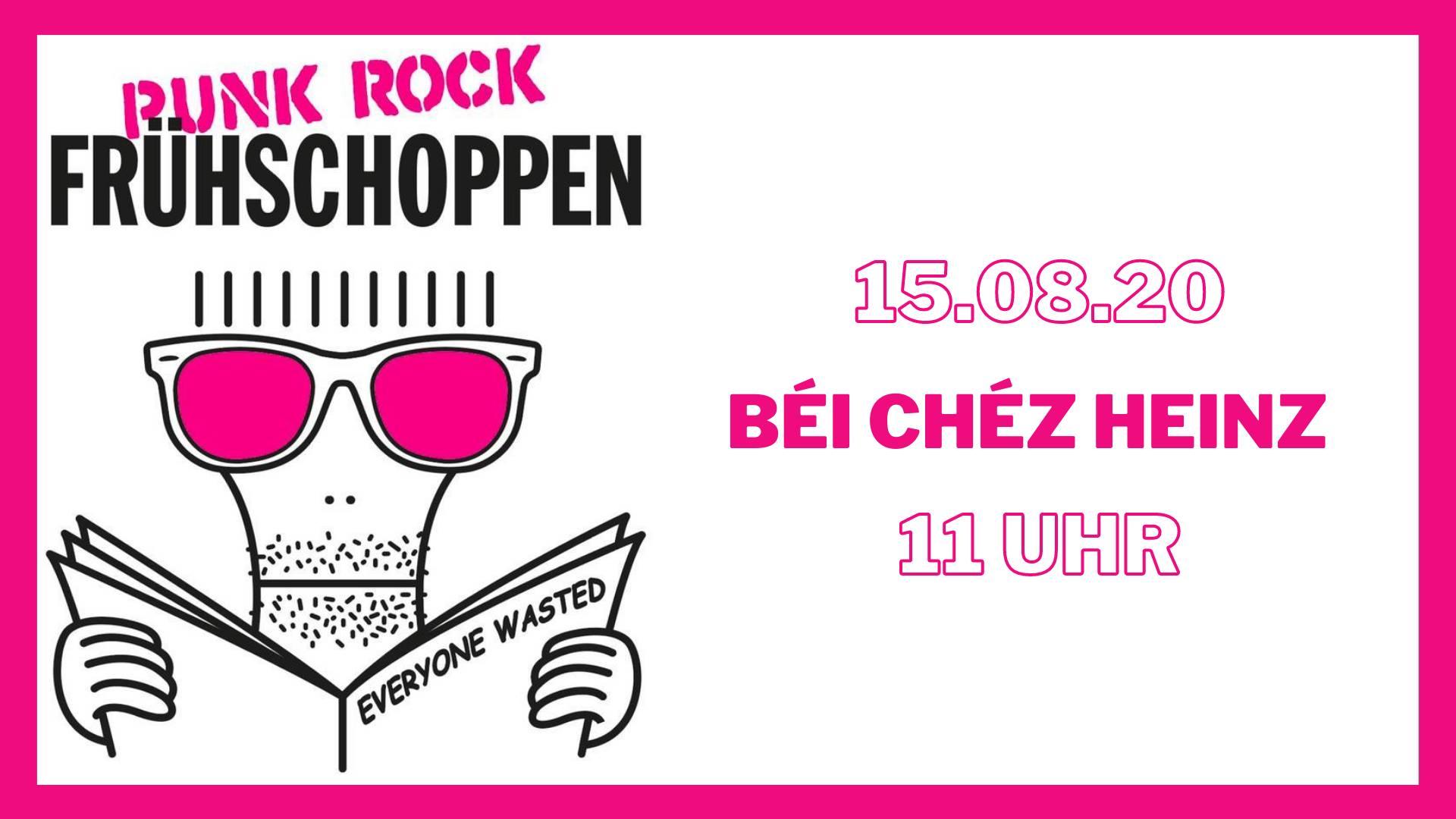 Punk Rock Frühshoppen Béi Chéz Heinz Hannover