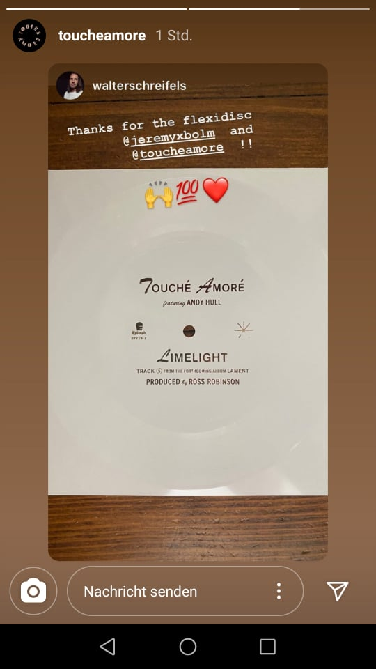 Touche Amore Tease News